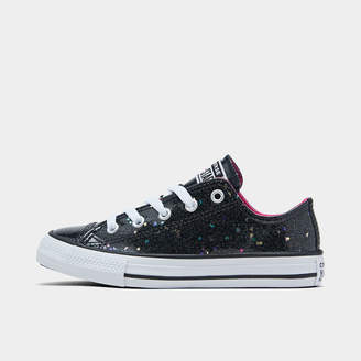 Converse Girls' Little Kids' Chuck Taylor Galaxy Glimmer Low Top Casual Shoes