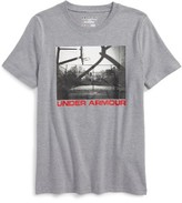 Under Armour Boy's Any Court Any Surface Heatgear T-Shirt