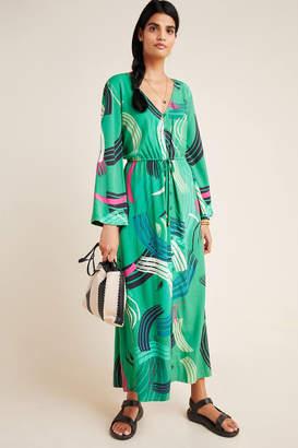 The Odells Paloma Paint-Swiped Maxi Dress