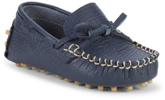 Elephantito Kid's Leather Driving Loafers