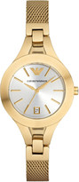 Emporio Armani AR7399 gold-toned watch