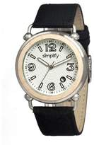 Simplify Men's SIM1601 The 1600 White Watch