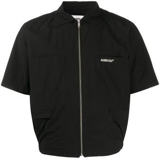Ambush Embroidered Logo Short-Sleeve Jacket