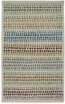 Bed Bath & Beyond Anna Redmond Floral Beige Dots Grey 8-Foot x 10-Foot Area Rug