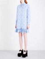 Gucci Rabbit-embroidered cotton dress