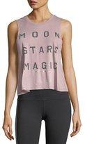 Spiritual Gangster Moon Stars Magic Crop Tank