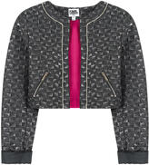 Karl Lagerfeld Metallic brocade jacket