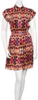 ICB Silk Printed Dress
