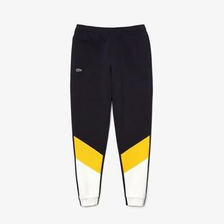 Lacoste Men's Colorblock Pique Fleece Jogging Pants
