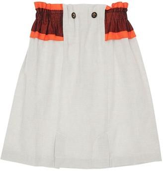 Infantium Victoria Striped Organic Cotton Skirt