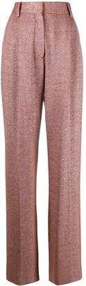M Missoni Glittered High-Waisted Trousers
