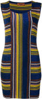 Missoni striped fitted mini dress