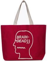 Brain Dead Logo Tote
