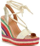 Kate Spade Daisey Too Rainbow Espadrilles Wedge