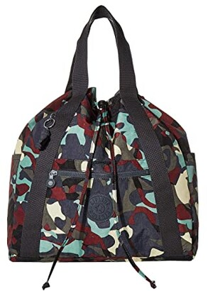 Kipling Art Medium Tote Backpack (Camo) Handbags