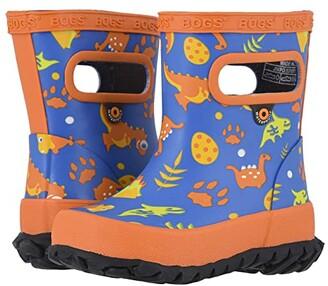 Bogs Skipper Lil Dino (Toddler/Little Kid) (Electric Blue Multi) Kids Shoes