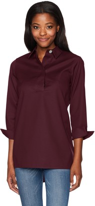 Foxcroft Women's BRE Solid Stretch Non Iron Tunic