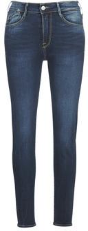 Le Temps Des Cerises POWER HIGH WAIST women's Skinny jeans in Blue
