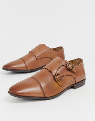 Pier 1 Imports monk shoes in tan