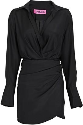 GAUGE81 Naha Silk Mini Dress
