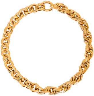 Bottega Veneta Chain Necklace in Argento Oro Giallo | FWRD