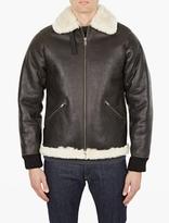 A.p.c. Black Leather René Jacket