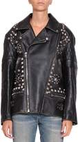 Gucci Future Leather Biker Jacket