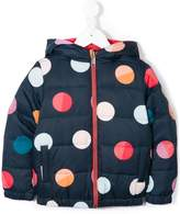 Paul Smith polka-dot padded coat