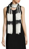 Eileen Fisher Colorblock Scarf