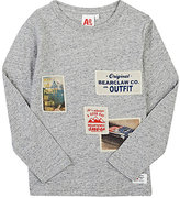 AO Mixed-Patch Cotton Long-Sleeve T-Shirt