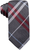 Ryan Seacrest Distinction Gower Plaid Slim Tie, Only at Macy's