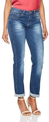 H.I.S Women's Marylin Slim Jeans, (Advanced Medium Blue Wash 9382), W29/L33