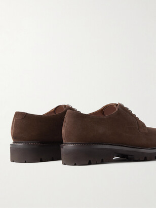 Grenson Melvin Suede Derby Shoes