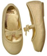 Gymboree Metallic Bow Flat