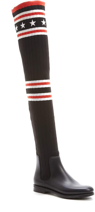 Givenchy Storm Over the Knee Sock Boot