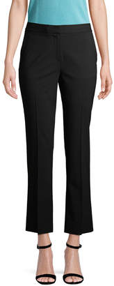 Diane von Furstenberg Wool-Blend Cropped Pant