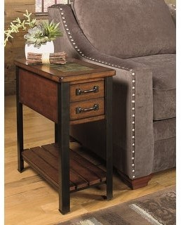 Heartwood Crossing Solid Wood Chairside Table