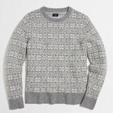 J.Crew Factory Lambswool snowflake sweater