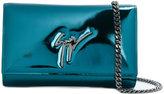 Giuseppe Zanotti Design The Signature clutch - women - Patent Leather - One Size