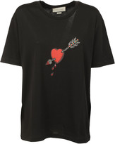 Gucci Embellished Arrow and Heart T-Shirt