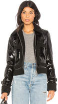 Rebecca Minkoff Corinna Jacket With Faux Fur Trim