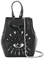 Kenzo Women's Black Leather Handbag.