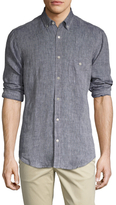 7 For All Mankind Linen Oxford Sportshirt