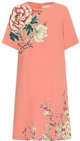 Etro Floral crepe minidress