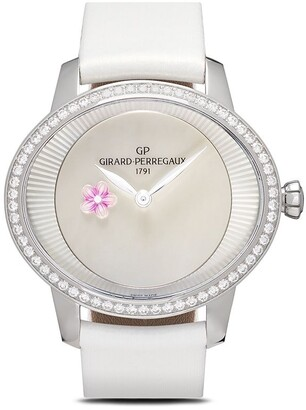 Girard Perregaux Cats Eye Plum Blossom 35.4 x 30.4mm