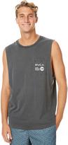 RVCA Anp Mens Pocket Muscle Black