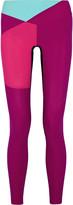Lucas Hugh Color-block stretch-jersey leggings