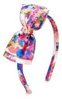 Oscar de la Renta Rainbow Dahlia Flamingo Headband