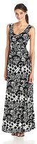 Tracy Reese Women's Print Jersey Maxi Dress