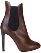 GIUSEPPE ZANOTTI DESIGN - High heel leather Chelsea boots